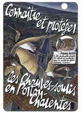 Plaquette et fiches «Connaître et protéger les chauves-souris en Poitou-Charentes»
