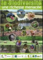 Affiche La biodiversité une richesse menacée
