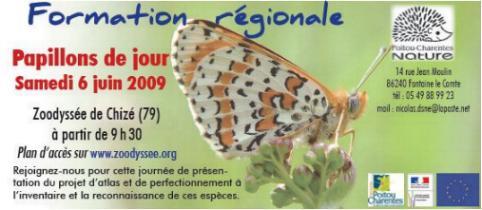 Formation Papillons du 6 juin 2009