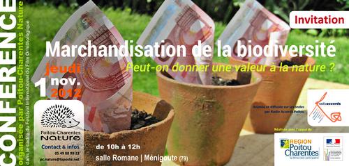Conférence 2012 – Marchandisation de la biodiversité