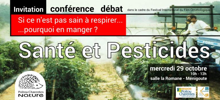 Conférence 2014 – Santé et pesticides